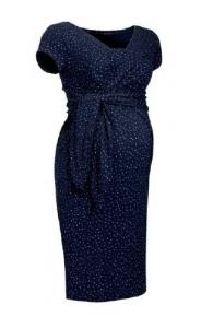 8be5941dc515 Holly new granatowa w kropeczki - sukienka ciążowa i do karmienia