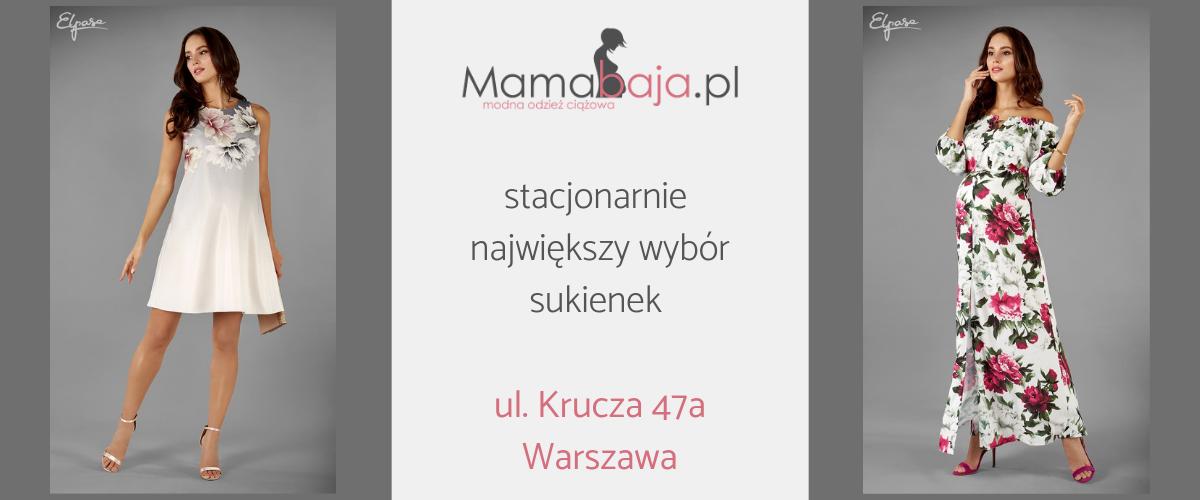 d70803de Mamabaja modna odzież ciążowa Warszawa
